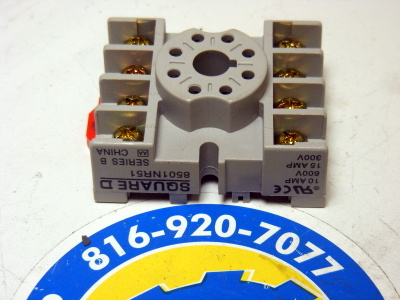 <b>Square D - </b>8501-NR51 Relay Socket Series B
